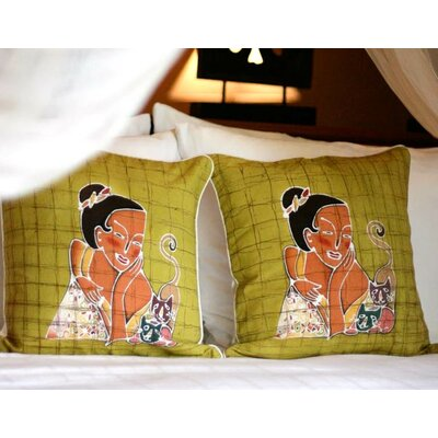 Vivacious Cotton Pillow Cover