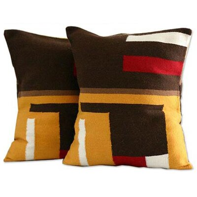 Wari Colors Fair Trade Alpaca Patterned Pillow Cover