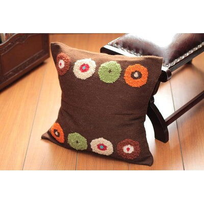 Mocha Bouquet Pillow Cover