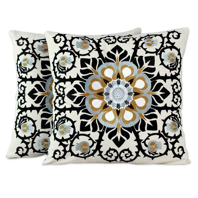 Jaipur Blossom Cotton Pillow Cover