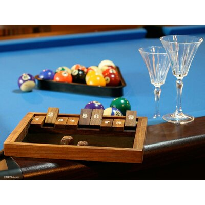 Winner Wood Shut The Box Game 121471