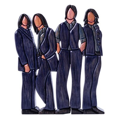 Quartet Wood Figurine 253994