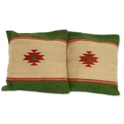 Zapotec Sierra Wool Pillow Cover