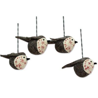 Chirpy Robin Ornament