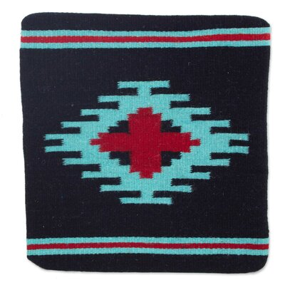 Zapotec Oaxaca Star Wool Pillow Cover