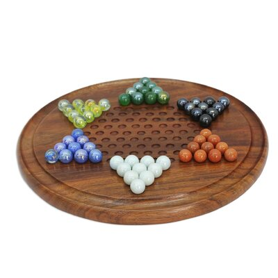 Strategy Time Wood Chinese Checkers 203796