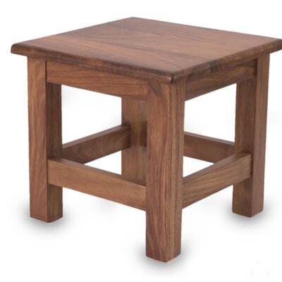 San Pedrito Mission Parota Wood End Table