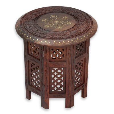 Evening Coffee Time End Table