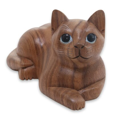 Short Haired Cat Figurine 255333