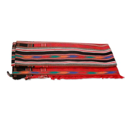 Festive India Cotton Throw
