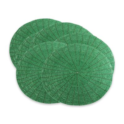 Beaded Placemat Color: Emerald 210095