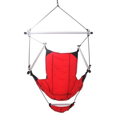 Parachute Nylon Chair Hammock Color: Pink