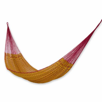 Hand-Woven Maya Cotton Tree Hammock