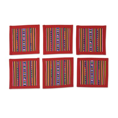 Patchwork Tribe Cotton Coaster 234043