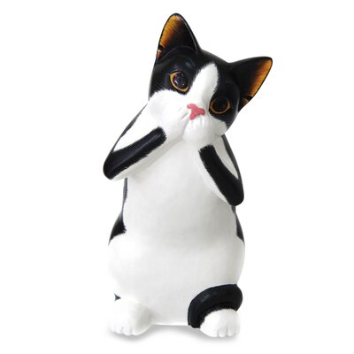 Cat Wood Figurine 207277