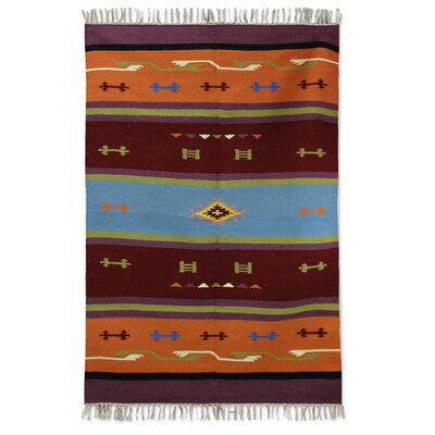 Dhurrie Style Handmade Hand-Loomed Area Rug
