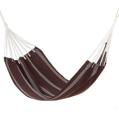Handwoven Single Acrylic Tree Hammock Color: Coffee Break