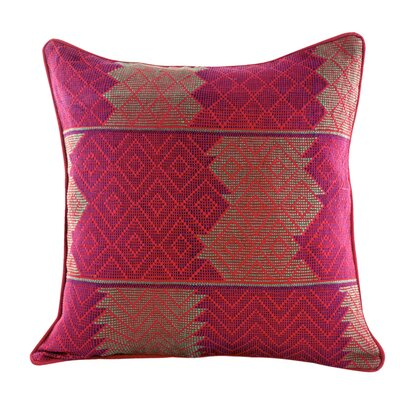 Maya Backstrap Loom Woven Pillow Cover