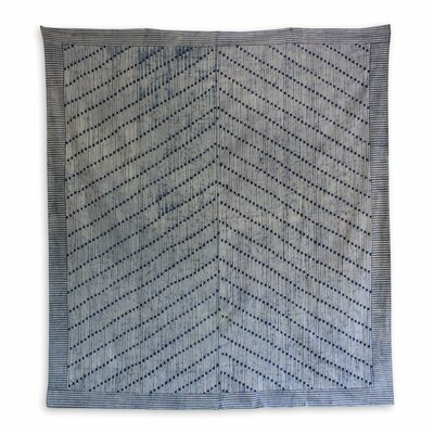 Cotton Batik Hill Tribe Queen Bedspread