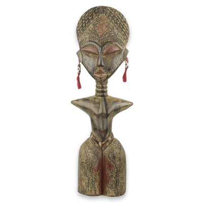 Ewe Tribe Woman Sculpture 239747