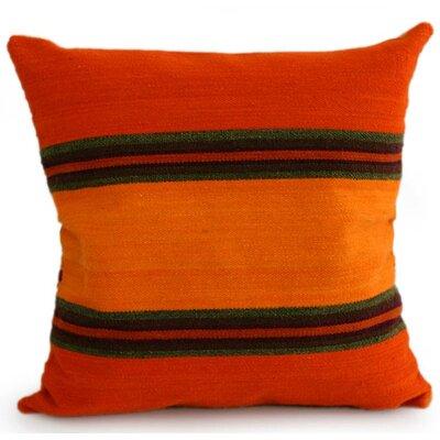 Handmade Stripe 18 Wool Pillow Cover