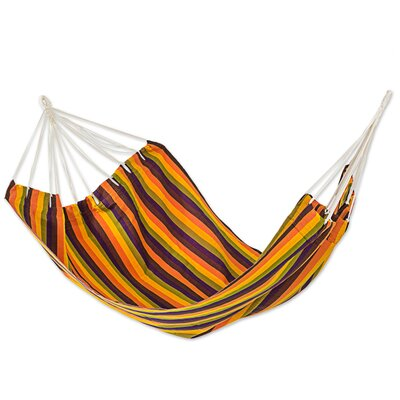 Guatemalan Sunset Double Acrylic Tree Hammock