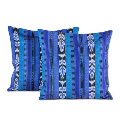 Jaspe Tradition 100% Cotton Pillow Cover Size: 18 x 18
