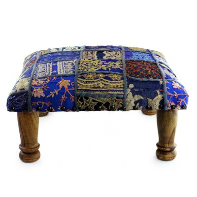 Rajasthan Fantasy Embellished Ottoman