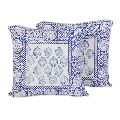 Royal Bliss Cotton Pillow Cover