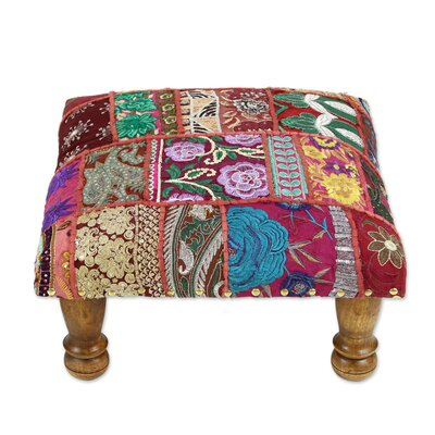 Rajasthan Illusions Embellished Ottoman