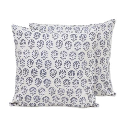 Stone Garden Cotton Pillow Cover