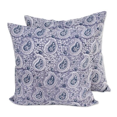 Paisleys Cotton Pillow Cover