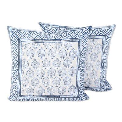 Foliage Cotton Pillow Cover