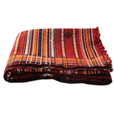 Gujarat Romance Throw Blanket