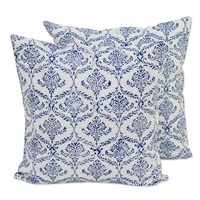 Vines 100% Cotton Pillow Cover