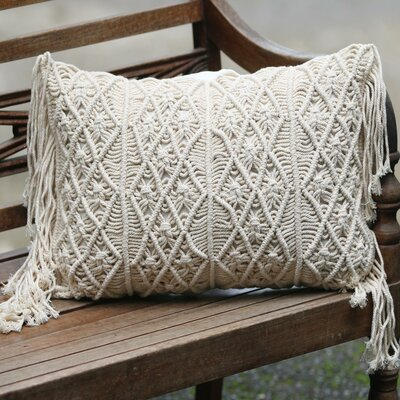 Small Bali Weave 100% Cotton Pillow Cover
