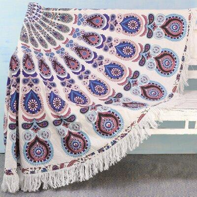 Mandala Comfort Roundie Beach Towel