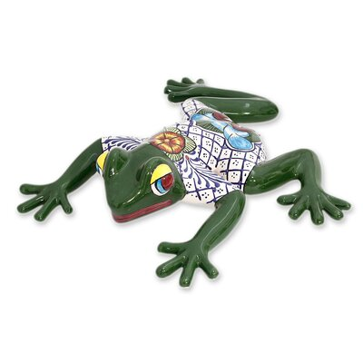 Festive Frog Figurine 195963