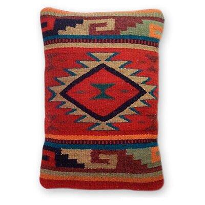 Monte Alban Wool Lumbar Pillow Cover