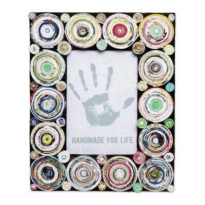 Hypnotizing Circles Picture Frame 287851