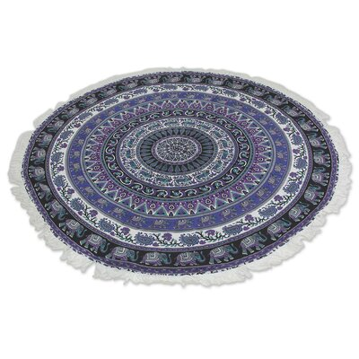 Beauty of Nature Purple Area Rug