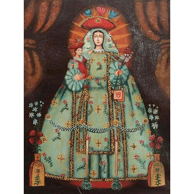 'Our Lady of Mercy' Oil Painting Print on Canvas