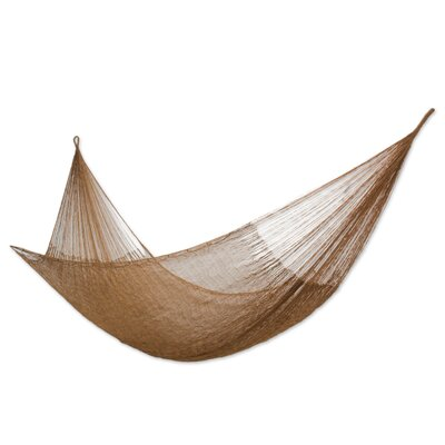 Maya Artists of the Yucatan Nylon Tree Hammock Color: Glowing Bronze, Size: 7.2 X 12.8