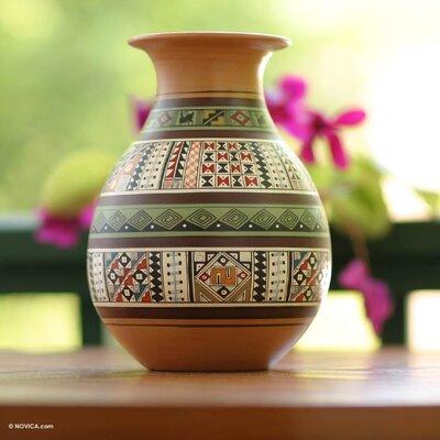 Cuzco Inca Splendour Table Vase 087BC6571F9E48609DE1C54AA895B52D