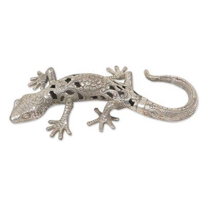 Chacko Silver Lizard Figurine 93985B4535C24A00B171BC2EA2A46E4D