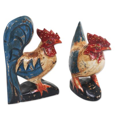 Burkeville Chicken Couple 2 Piece Figurine Set B7B20A10E3AA4EB7BF6957C68AD43917