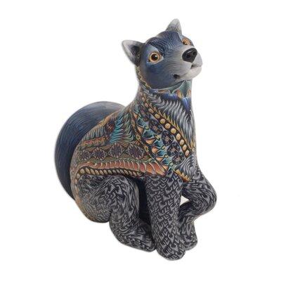 Citrana Vibrant Wolf Sculpture E77BDF1C40B647539EF9AA67E71C508D