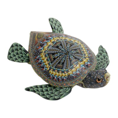Clabaugh Vibrant Sea Turtle Sculpture 3E33C90B4EDB400F95149DA954965DDE