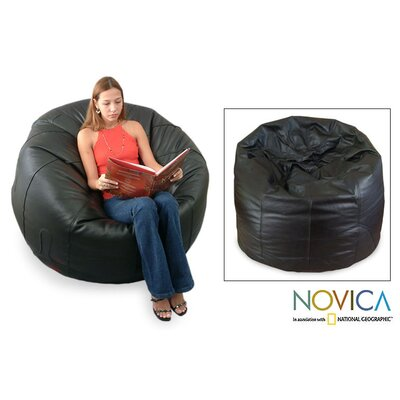 Leather Comfort Bean Bag Cover