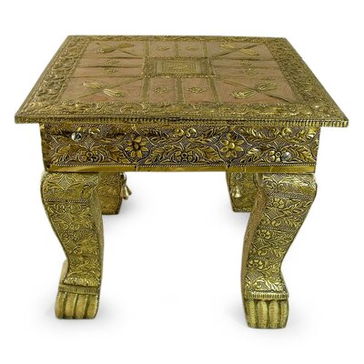 Sheraton Golden Splendor Wood End Table